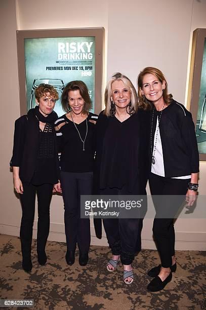 Vice president HBO Documentary Films Sarah Bernstein Producer Ellen Goosenberg Kent President of HBO Documentary Films Sheila Nevins and Producer...