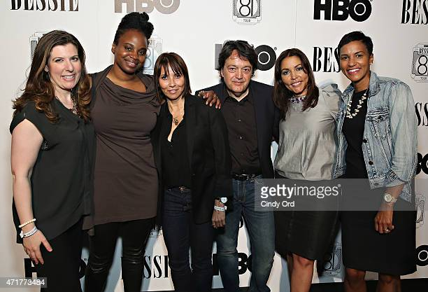 Vice President HBO Films Maria Zuckerman Director Dee Rees Producer Shelby Stone Len Amato President of HBO Films Lucinda Martinez SVP Multicultural...