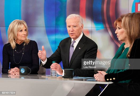 THE VIEW Vice President Joe Biden and his wife Dr Jill Biden make their first joint appearance on ABCs 'The View' live FRIDAY JANUARY 13 BILA