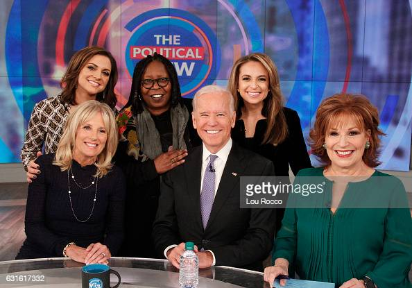 THE VIEW Vice President Joe Biden and his wife Dr Jill Biden make their first joint appearance on ABCs 'The View' live FRIDAY JANUARY 13 BEHAR