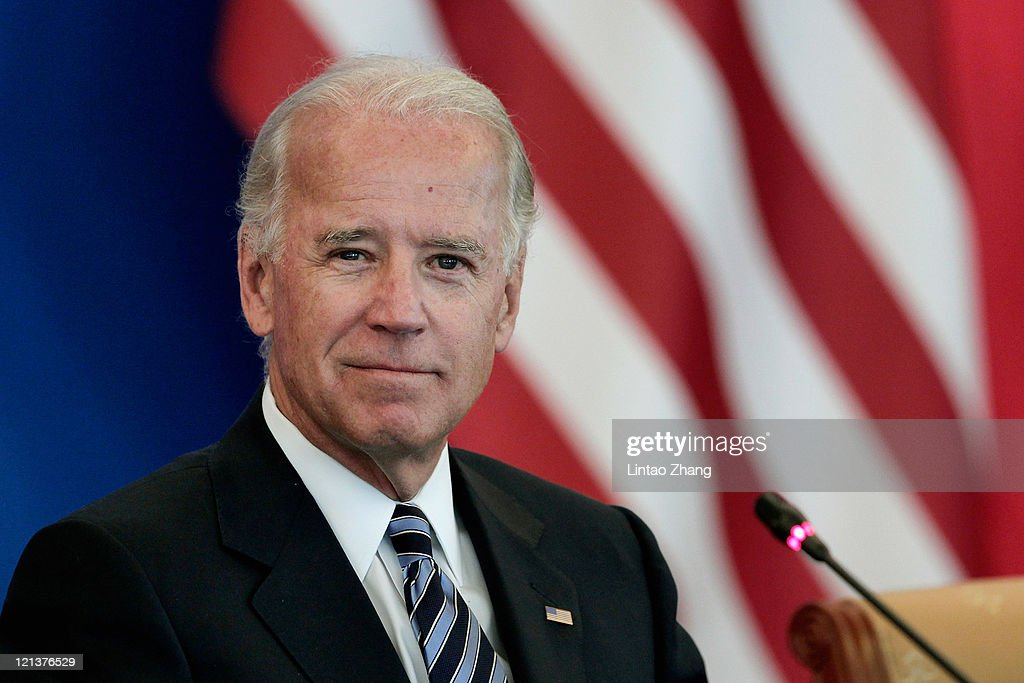 U.S. Vice President Joe Biden listens as Chinese Vice President Xi Jinping speaks during talks held at Beijing Hotel on August 19, 2011 in Beijing, China. Public opinions bellieve that Biden's visit will take economic issues as the primary issues.