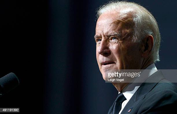 Vice President Joe Biden speaks during the 19th Annual HRC National Dinner at Walter E Washington Convention Center on October 3 2015 in Washington DC