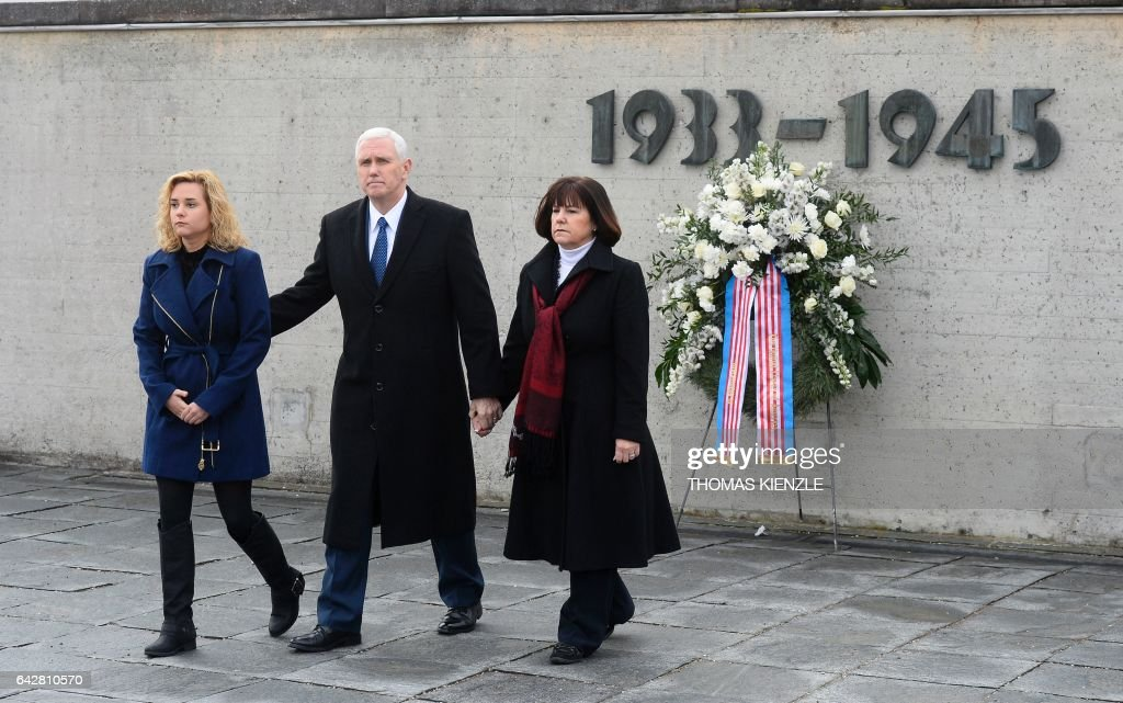 Vice President Pence Visits Dachau Concentration Camp