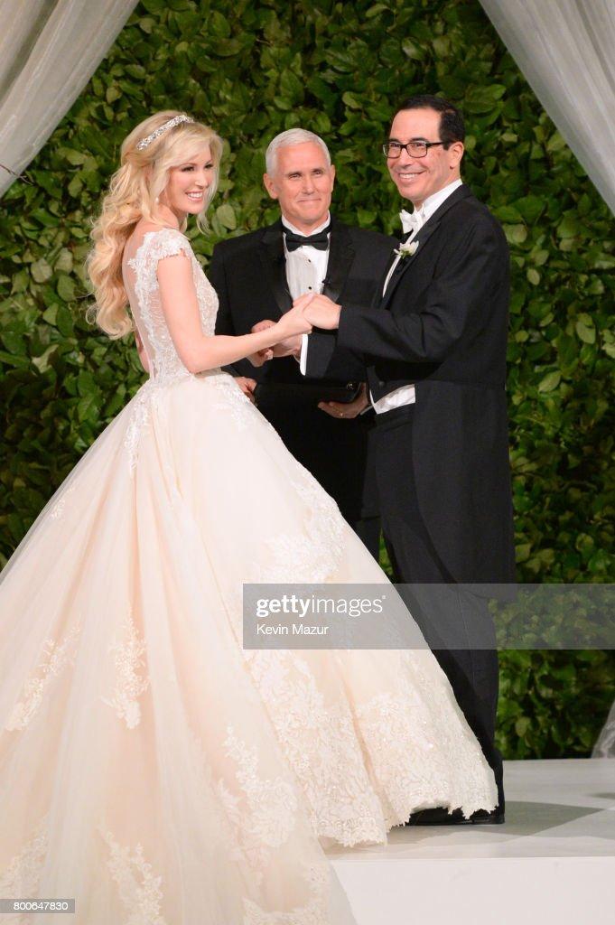 Secretary of the Treasury Steven Mnuchin and Louise Linton Wedding