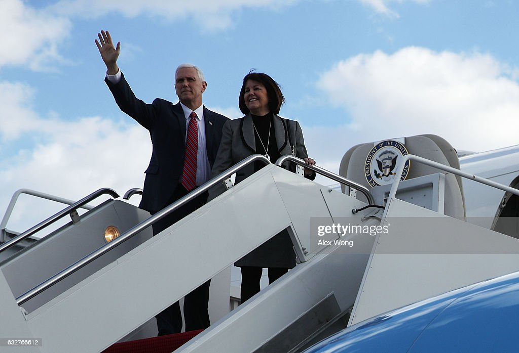 Vice President Pence Addresses Republican Retreat In Philadelphia