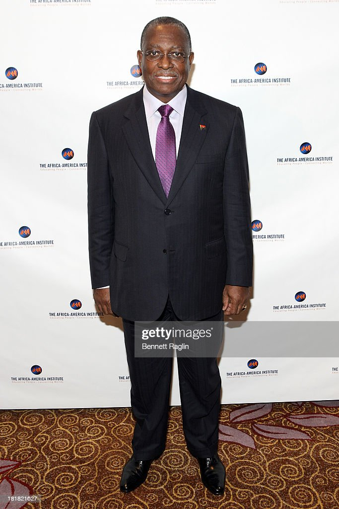 Vice President of Angola, Manuel Vicente attends Africa-America Institute 60th Anniversary Awards Gala at New York Hilton on September 25, 2013 in New York City.