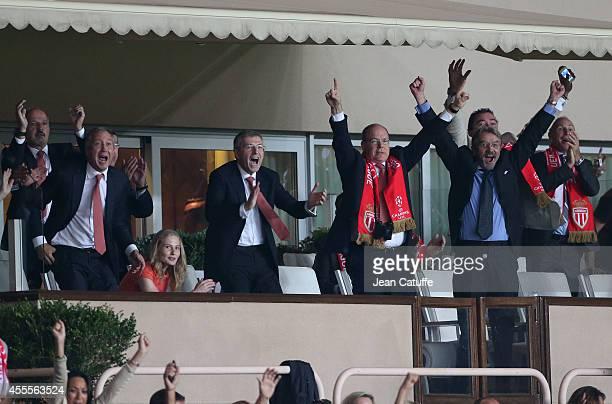 Vice president of AS Monaco Vadim Vasyliev Ekaterina Rybolovlev his father President of AS Monaco Dmitri Rybolovlev Prince Albert II of Monaco...
