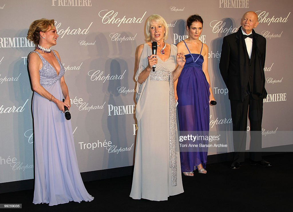 63rd Annual Cannes Film Festival - The Chopard Trophy