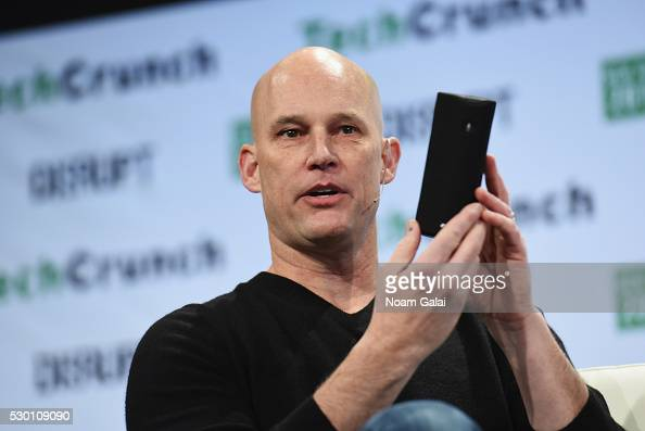 Vice President of Echo Alexa and Appstore at Amazoncom Mike George speaks onstage during TechCrunch Disrupt NY 2016 at Brooklyn Cruise Terminal on...