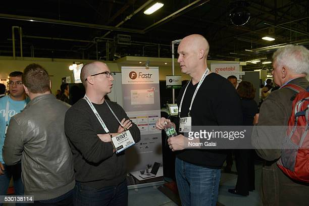 Vice President of Echo Alexa and Appstore at Amazoncom Mike George attends TechCrunch Disrupt NY 2016 at Brooklyn Cruise Terminal on May 10 2016 in...