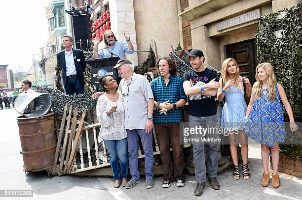 Vice President of Entertainment at Universal Studios Tim Runco Executive Producer/director Greg Nicotero actors Yvette Nicole Brown Scott Wilson...