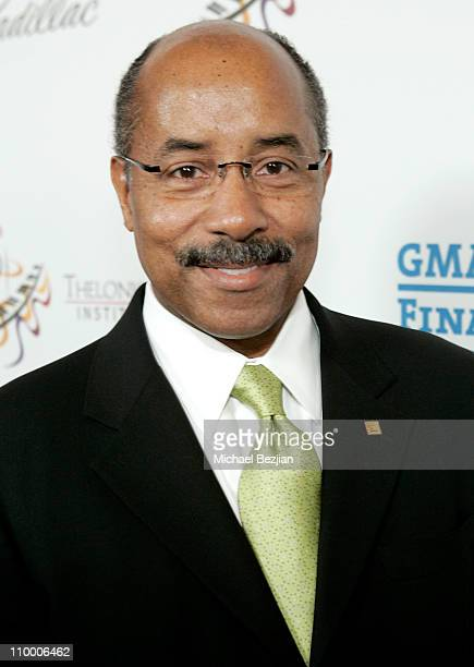 Vice President of General Motors Edward T Welburn arrives to The Thelonious Monk Institute of Jazz and The Recording Academy Los Angeles chapter...