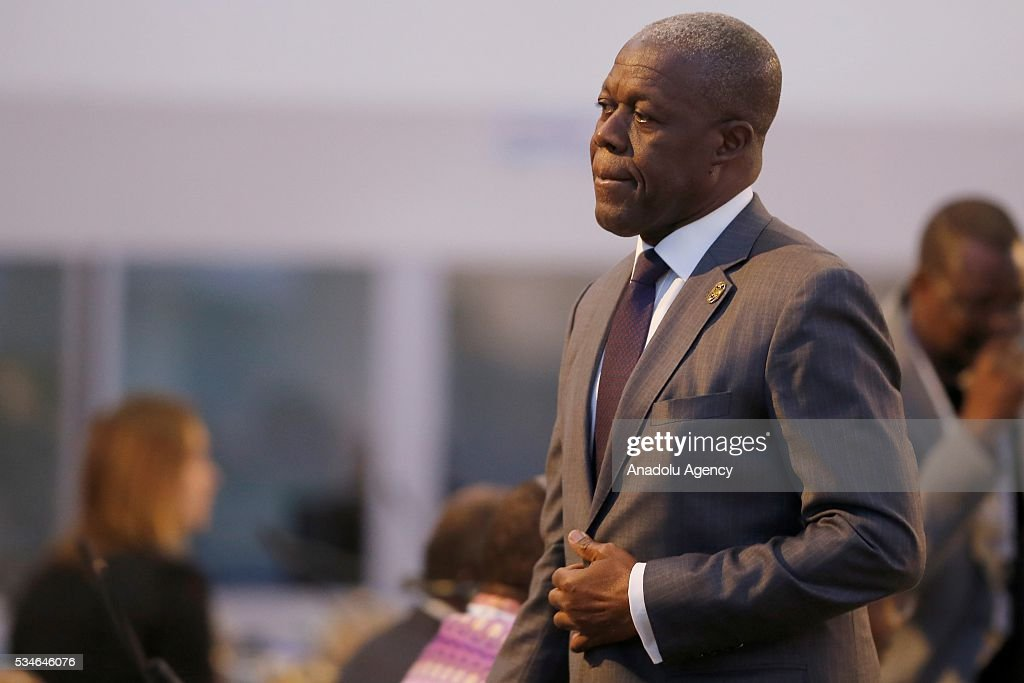 Vice President of Ghana, Amissah Arthur Kwesi Bekoe attends the Midterm Review of the Istanbul Programme of Action in Antalya, Turkey on May 27, 2016. The Midterm Review conference for the Istanbul Programme of Action for the Least Developed Countries takes place in Antalya, Turkey from 27-29 May 2016. The conference will undertake a comprehensive review of the implementation of the Istanbul Programme of Action by the least developed countries (LDCs) and their development partners and likewise reaffirm the global commitment to address the special needs of the LDCs