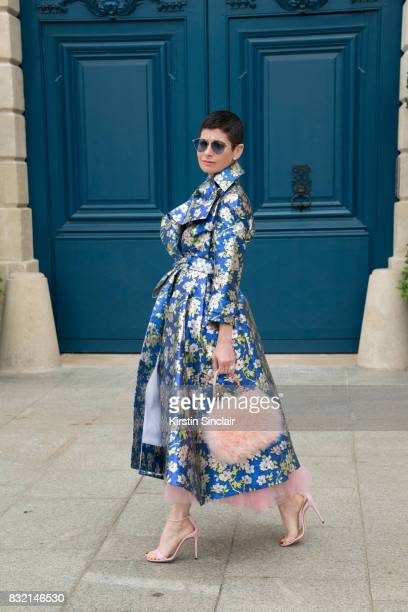 Vice President of Mayfair jewels and co founder of Station Head Lauren Kulchinsky Levison wears a Delpozo jacket Dior sunglasses Gucci shoes and a...