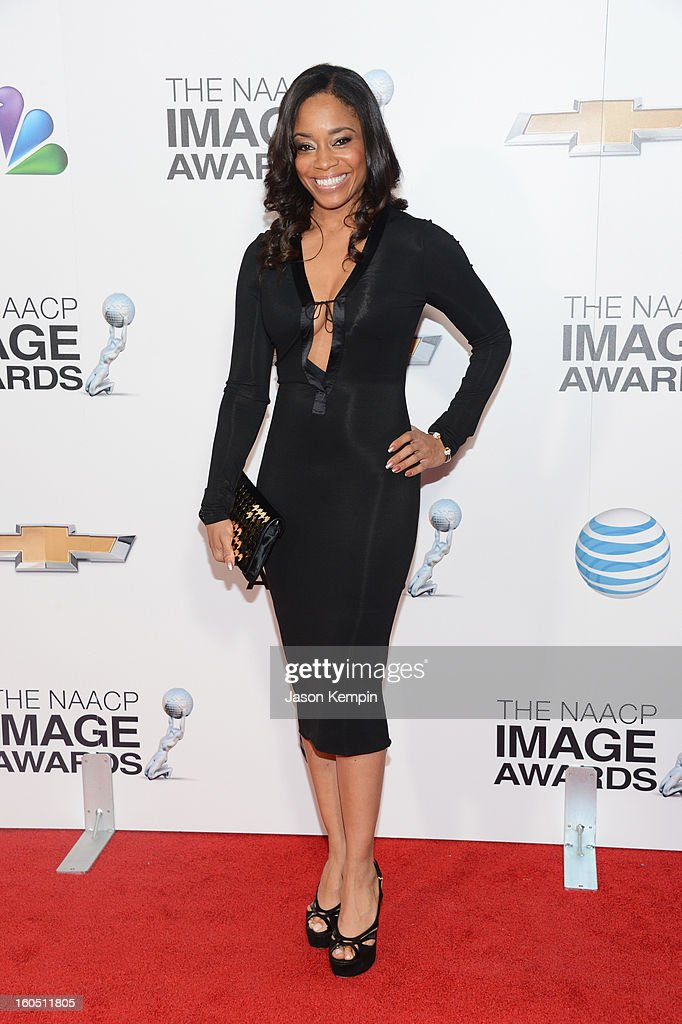 Vice President of Original Programming for BET, Connie Orlando arrives at the 44th NAACP Image Awards held at The Shrine Auditorium on February 1, 2013 in Los Angeles, California.