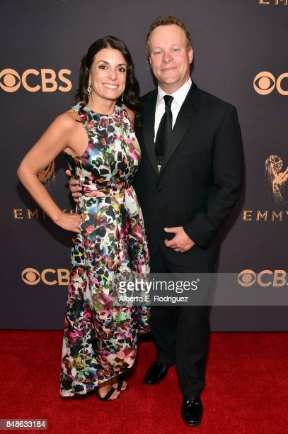 Vice President of Programming for CBS News and Executive Producer of 'CBS This Morning' Chris Licht and Jenny Licht attend the 69th Annual Primetime...