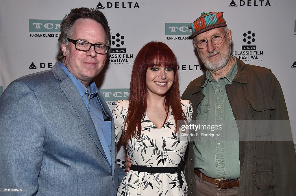 Vice President of Studio Production at TCM Sean Cameron, TV host and reporter Alicia Malone and actor <a gi-track='captionPersonalityLinkClicked' href=/galleries/search?phrase=James+Cromwell&family=editorial&specificpeople=211295 ng-click='$event.stopPropagation()'>James Cromwell</a> attend 'Lassie Come Home' during day 2 of the TCM Classic Film Festival 2016 on April 29, 2016 in Los Angeles, California. 25826_006