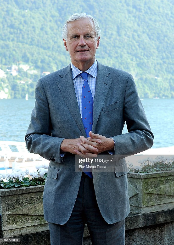 Vice President of the European Commission <a gi-track='captionPersonalityLinkClicked' href=/galleries/search?phrase=Michel+Barnier&family=editorial&specificpeople=220639 ng-click='$event.stopPropagation()'>Michel Barnier</a> attends the Ambrosetti International Economy Forum at Villa d'Este Hotel on September 5, 2014 in Como, Italy. 'Intelligence on the World, Europe and Italy' is the title of the workshop of the 40th edition of Ambrosetti International Economy Forum the intent of the workshop is to offer Italian and International decision-makers the opportunity for serious, high-level examination with the support of studies and statistics of geopolitical, economic, technological and social scenarios and their implication for business.