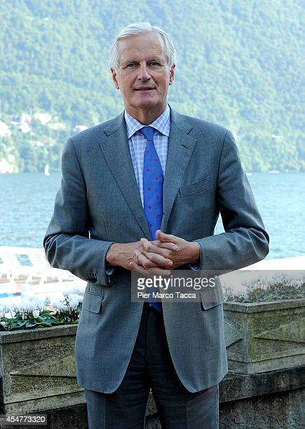 Vice President of the European Commission Michel Barnier attends the Ambrosetti International Economy Forum at Villa d'Este Hotel on September 5 2014...