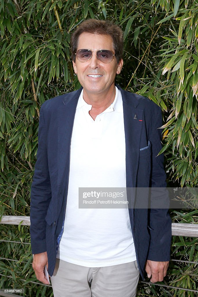 Vice President of the National Rugby League, Max Guazzini attend the 2016 French Tennis Open - Day Six at Roland Garros on May 27, 2016 in Paris, France.