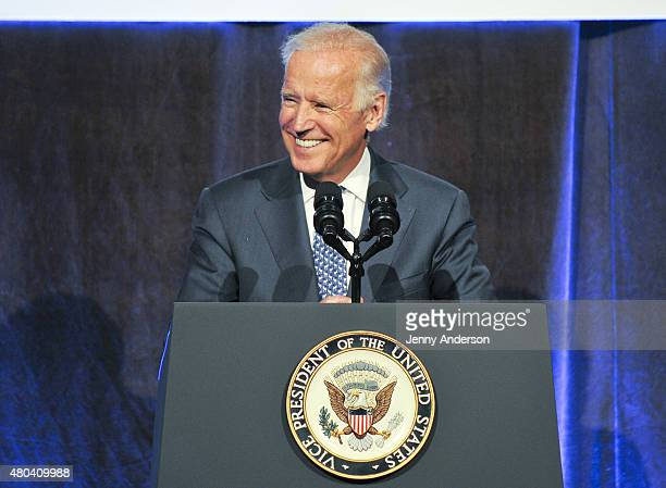 Vice President of the United States Joe Biden attends Freedom To Marry Celebration at Cipriani Wall Street on July 9 2015 in New York City