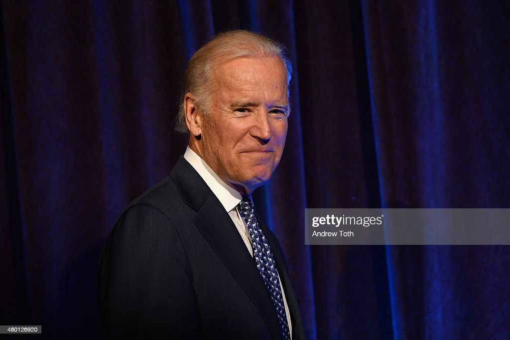 Vice President of the United States Joe Biden speaks during Freedom to Marry Celebration Event at Cipriani Wall Street on July 9, 2015 in New York City.