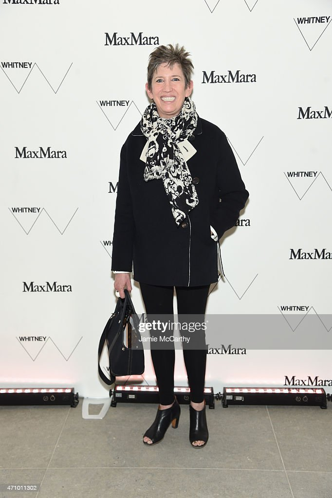 Vice President of the Whitney Museum of Art, Beth Rudin DeWoody attends the Max Mara celebration of the opening of The Whitney Museum Of American Art at its new location on April 24, 2015 in New York City.