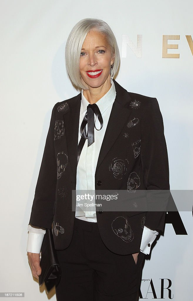 Vice President of Visual Merchandising at Bergdorf Goodman <a gi-track='captionPersonalityLinkClicked' href=/galleries/search?phrase=Linda+Fargo&family=editorial&specificpeople=592060 ng-click='$event.stopPropagation()'>Linda Fargo</a> attends An Evening Honoring Karl Lagerfeld at Alice Tully Hall on November 6, 2013 in New York City.