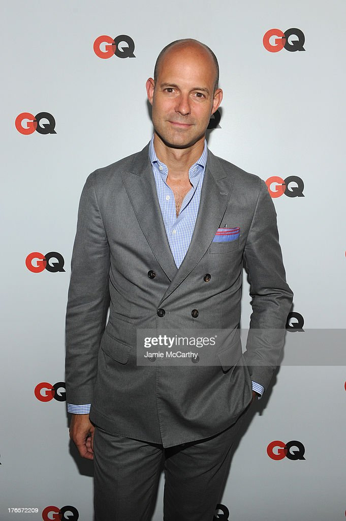 Vice President & Publisher of GQ, Chris Mitchell attends the GQ 'What To Wear Now' Special Issue Party at The Highline Hotel on August 15, 2013 in New York City.