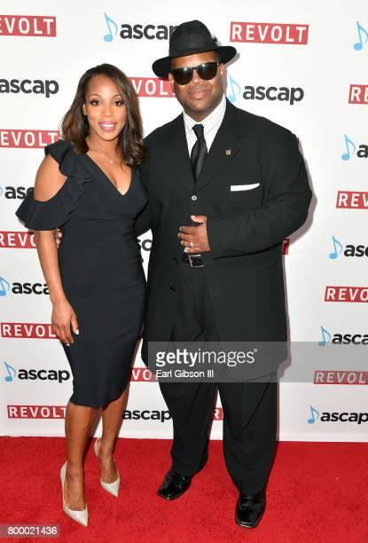Vice President Rhythm Soul/ Urban Membership ASCAP Nicole GeorgeMiddleton and honoree Jimmy Jam at the ASCAP 2017 Rhythm Soul Music Awards at the...