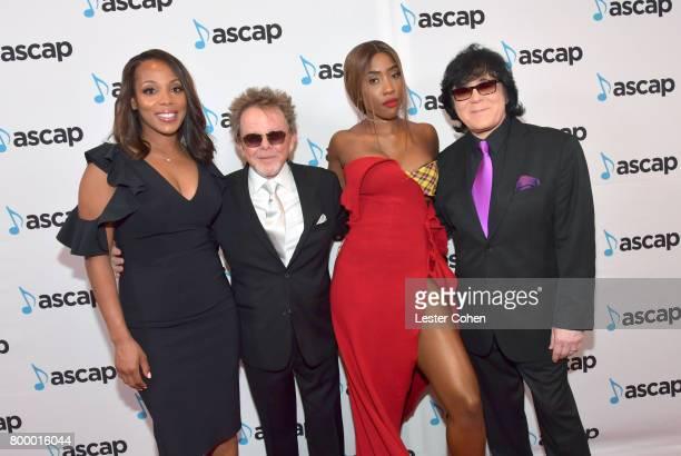 Vice President Rhythm Soul/ Urban Membership ASCAP Nicole GeorgeMiddleton ASCAP President Paul Williams Sevyn Streeter and EVP/ Membership ASCAP John...
