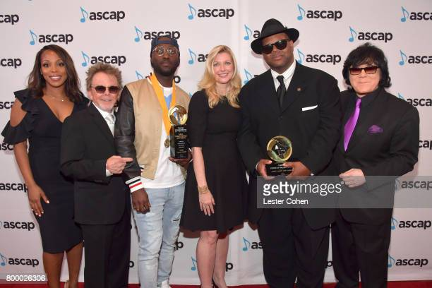 Vice President Rhythm Soul/ Urban Membership ASCAP Nicole GeorgeMiddleton ASCAP President Paul Williams Songwriter of the Year honoree Paul...