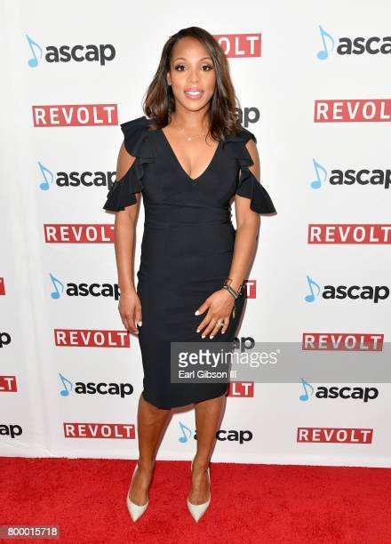 Vice President Rhythm Soul/ Urban Membership ASCAP Nicole GeorgeMiddleton at the ASCAP 2017 Rhythm Soul Music Awards at the Beverly Wilshire Four...