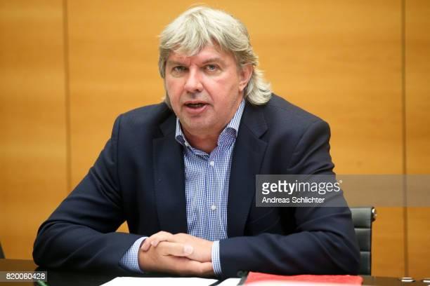 Vice President Ronny Zimmermann at DFB Headquarter on July 19 2017 in Frankfurt am Main Germany