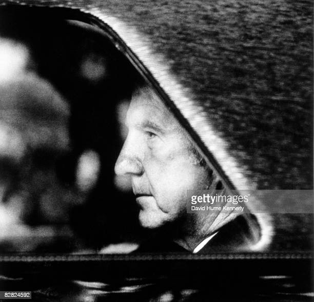 Vice President Spiro Agnew the day after resigning his office October 10 1973 in Washington DC
