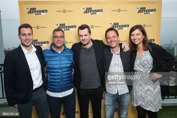 Vice President Talent and Development Comedy Central Adam Londy President Comedy Central Kent Alterman comedian Jim Jefferies Executive Vice...
