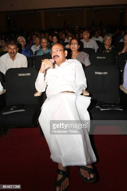Vice President Venkaiah Naidu during the 21st Parampara Series National Festival of Music and Dance with the aim of celebrating and performing arts...