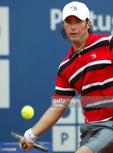 Vicent Spadea during his match against Richard Gasquet in the 2007 Estoril Open in Estoril Portugal on May 5 2007