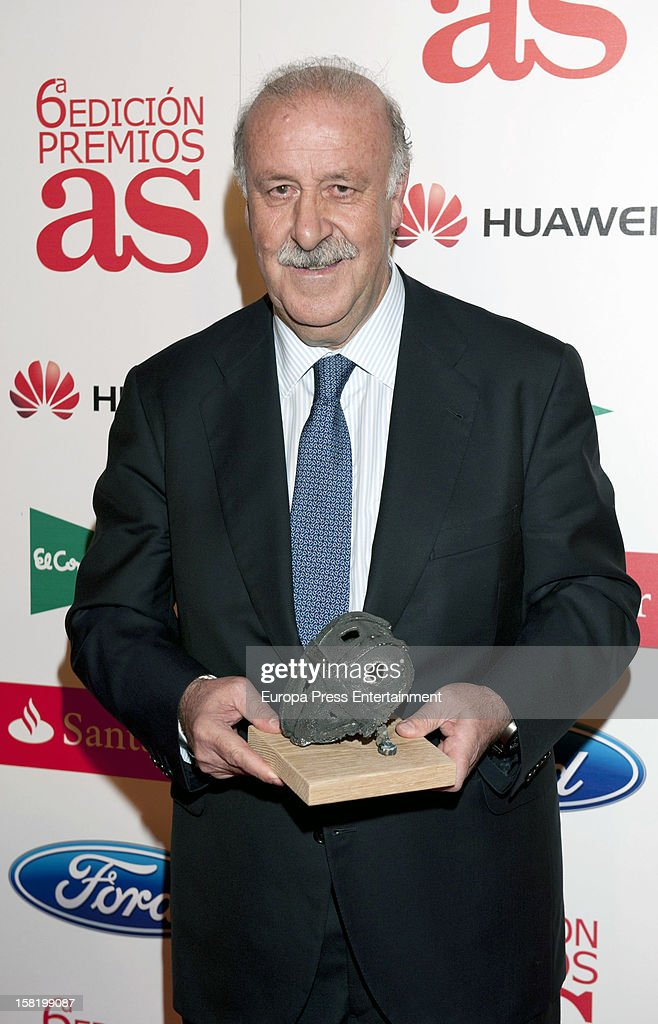 Vicente del Monte attends As Del Deporte' Awards 2012 on December 10, 2012 in Madrid, Spain.