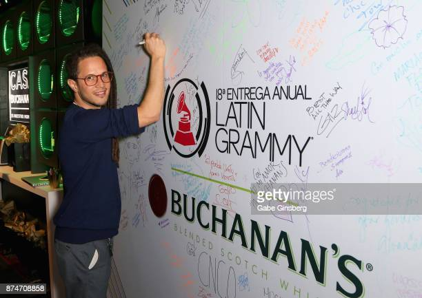 Vicente García attends the gift lounge during the 18th annual Latin Grammy Awards at MGM Grand Garden Arena on November 15 2017 in Las Vegas Nevada