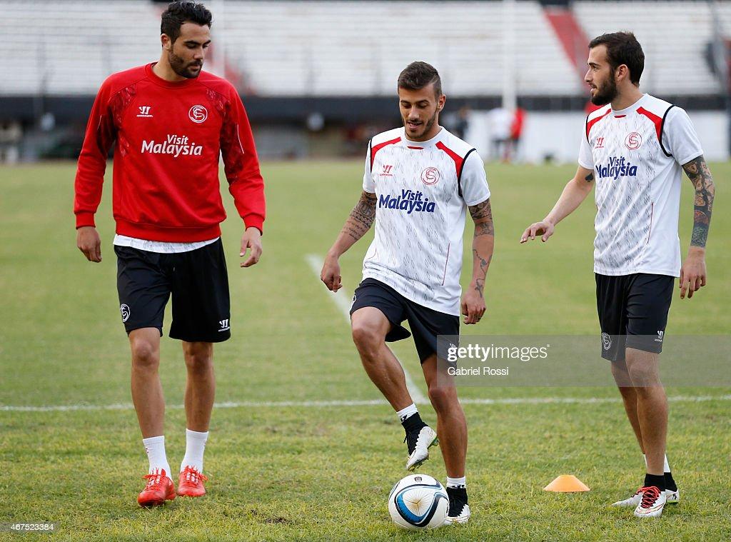 Sevilla FC Training Session