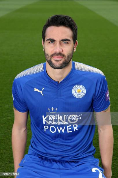 Vicente Iborra during the Leicester City Official Team Group on November 1 2017 in Leicester United Kingdom