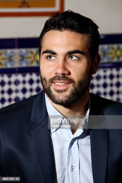 Vicente Iborra Leicester City Magazine Shoot on November 15th 2017 in Leicester United Kingdom