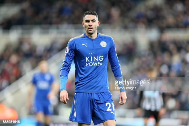 Vicente Iborra of Leicester City during the Premier League match between Newcastle United and Leicester City at St James Park on December 9th 2017 in...