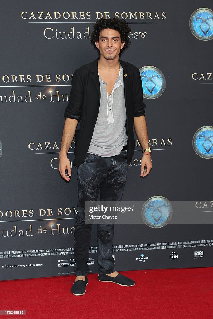 Vicente Tamayo attends The Mortal Instruments: City of Bones' Mexico City screening at Auditorio Nacional on August 27, 2013 in Mexico City, Mexico.