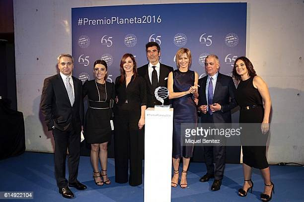 Vicente Valles Helena Resano Villanueva Jorge Fernandez Susanna Griso Juan Ramon Lucas and Monica Carrillo attend the '65th Premio Planeta'...