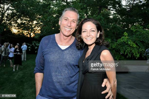 Vicente Wolf and Margaret Russell attend GODS LOVE WE DELIVERMid Summer Night Drinks Benefit at Home of Chad A Leat on June 19 2010 in Bridgehampton...