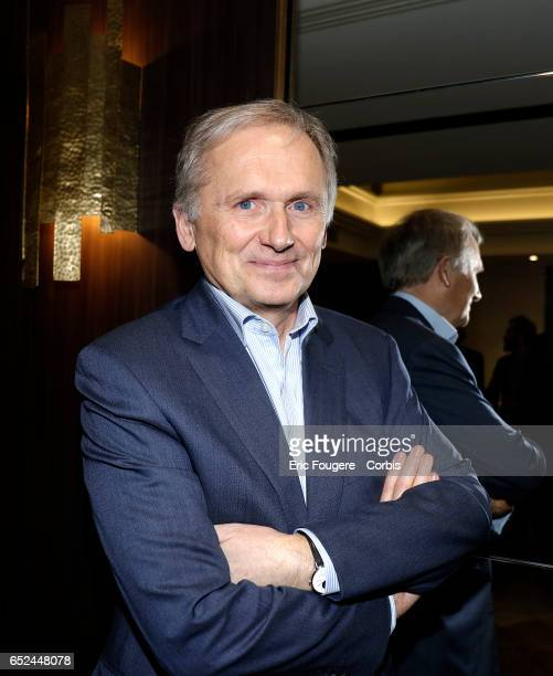 VicePresident of M6 Group Thomas Valentin poses during a portrait session in Paris France on