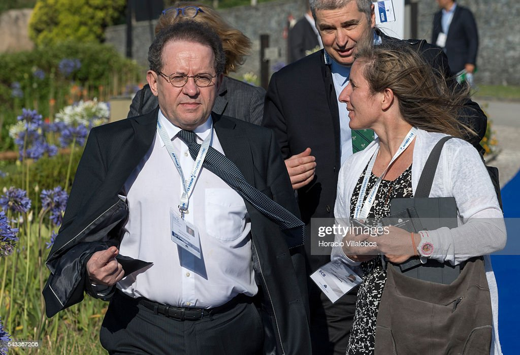 Vice-President of the European Central Bank Vitor Manuel Ribeiro Constancio arrives to participate in the ECB Forum on Central Banking on June 27, 2016 in Sintra, Portugal. The third annual European Central Bank Forum on Central Banking focuses on 'The future of the international monetary and financial architecture', a key topic of debate among economists and policymakers. Some 150 central bank governors, academics, financial journalists and high-level financial market representatives will discuss current policy issues and the chosen topic from a longer-term perspective.