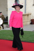 VicePresident of the European commisssion in charge of Justice Fundamental Rights and Citizenship Viviane Reding attends the wedding ceremony of...